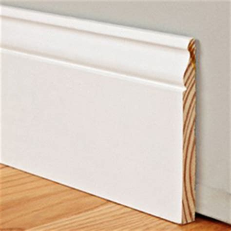 """5 1/4"""" Tall Traditional Profile Baseboard   99 cents/ft"""