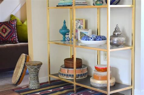 Etagere 9 Cases Ikea by Honey Sweet Home Diy Brass Etagere Gold Leafed Ikea