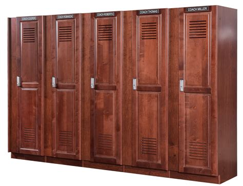 sports lockers for rooms coach lockers wood coach s lockers for athletic locker