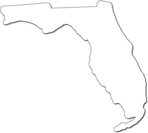 Florida State Outline Png by Florida Quot Fancy Frame Quot Style Maps In 30 Styles