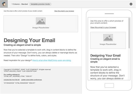 Html5 Dealing With Content Images In Email Css Email Template
