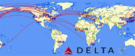 top 12 non stop delta flights in the world