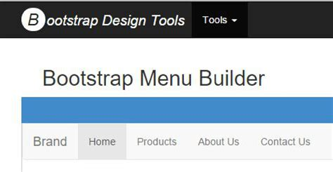 design menu bar in bootstrap bootstrap menu