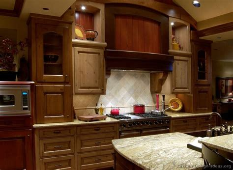 Cool Kitchen Cabinet Features Kitchen Idea Of The Day This Timber Frame Kitchen Features A Unique Wood And Four