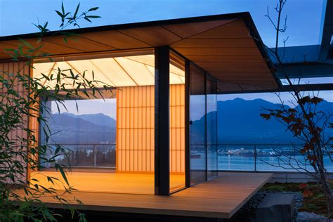 tea house vancouver vancouver tea house ヴァンクーヴァー茶室 architecture kengo kuma and