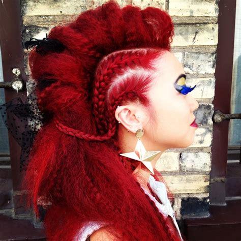 nick cannon faux hawk hairstyle faux hawk braids hair pinterest