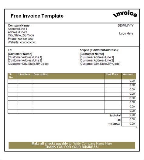 best photos of blank invoice to use blank invoice forms