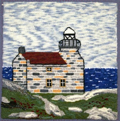 Ohio State Rug by Lighthouses Of Newfoundland And Labrador Part 2