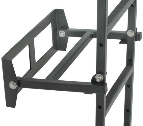 collapsible ladder rack folding ladder for rhino rack alloy trays and wire mesh