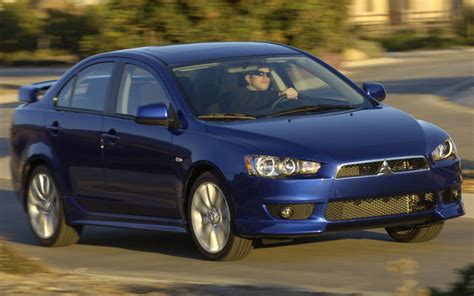 blue book value used cars 2008 mitsubishi lancer evolution regenerative braking 2009 mitsubishi lancer gts first drive motor trend