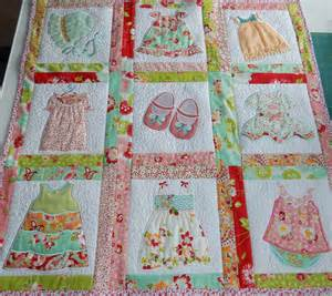 How To Make A Handmade Quilt - tiny dresses a quilt for a new baby