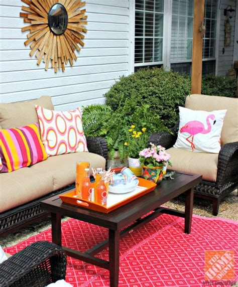 Decoration De Patio by Patio Decor Ideas Colorful Poolside Seating By