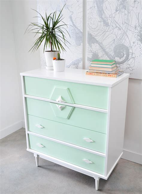 Painted Dressers Diy by Picture Of Diy Upcycled Vintage Painted Dresser