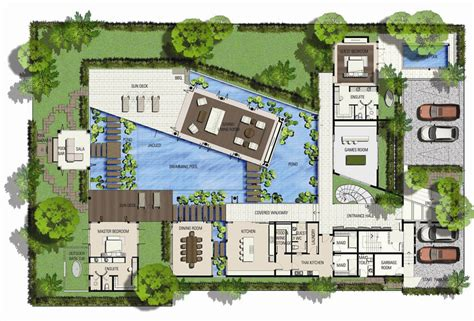 layout design of villa world s nicest resort floor plans saisawan beach