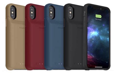 mophie lance sa coque de batterie juice pack pour iphone xs max xr