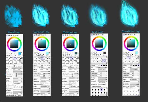 paint tool sai fireworks tutorial tutorial blue by livanas on deviantart