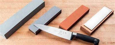 Sharpening Kitchen Knives With A Stone How To Use A Sharpening Stone Using A Sharpening Stone