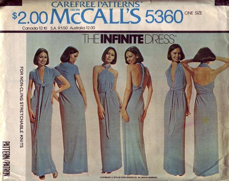 infinity dress pattern infinity dress pattern mccalls www imgkid the