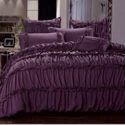 King Size Purple Bedding Sets Luxton King Size Duvet Quilt Cover Set Plum Purple Bedding Set Bed Linen B0001pk Ebay