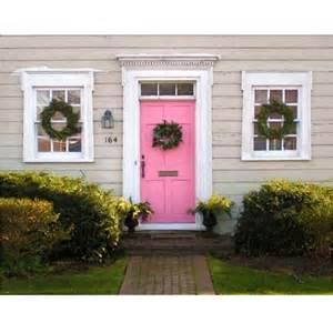 Pink Front Door 17 Best Images About Pink Front Doors On Valspar And Cement