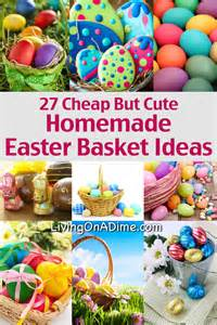 Homemade Easter Basket Ideas by Gallery For Gt Homemade Easter Basket Filler Ideas