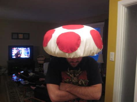 How To Make A Mario Hat Out Of Paper - create a hat a la toad from nintendo s
