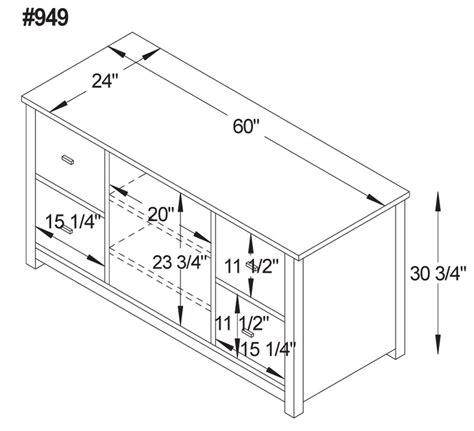 Modular Kitchen Cabinets Dimensions Mission Modular 60