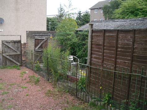 backyard fence repair fencing glasgow garden fencing fence repairs glasgow
