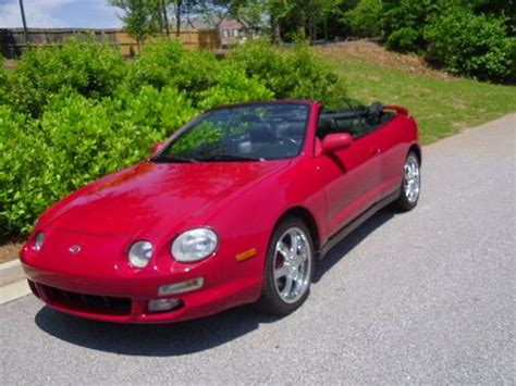 1999 Toyota Celica Convertible Sell Used 1999 Toyota Celica Gt Convertible 2 Door 2 2l In