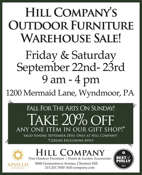 outdoor furniture warehouse sale hill company s outdoor furniture warehouse sale chestnut
