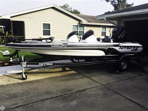 nitro z6 bass boats for sale 2014 used nitro z6 dc bass boat for sale 28 400