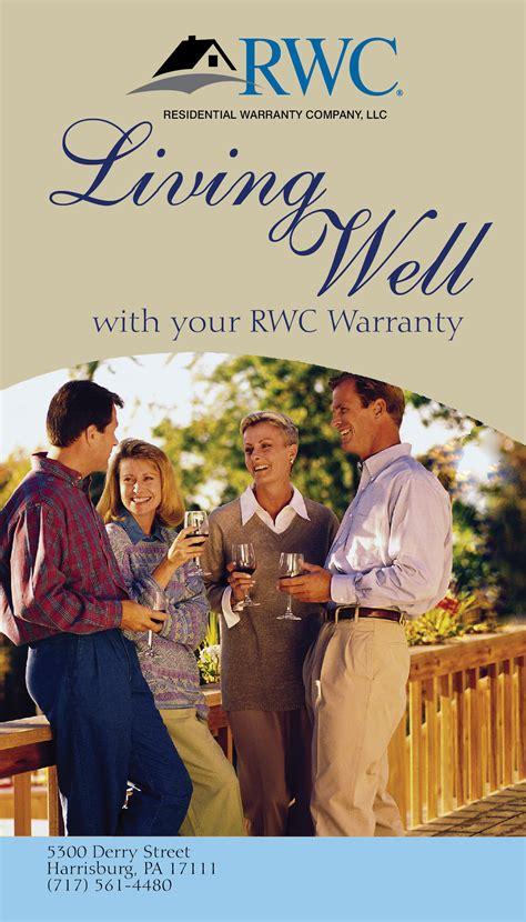 1 Year Builders Warranty Fha by Marketing Materials Consumer Brochures Rwc Warranty