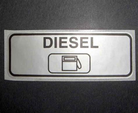 Aufkleber Alarmanlage Wohnmobil by Aufkleber Diesel B90 X H30 Mm 60092