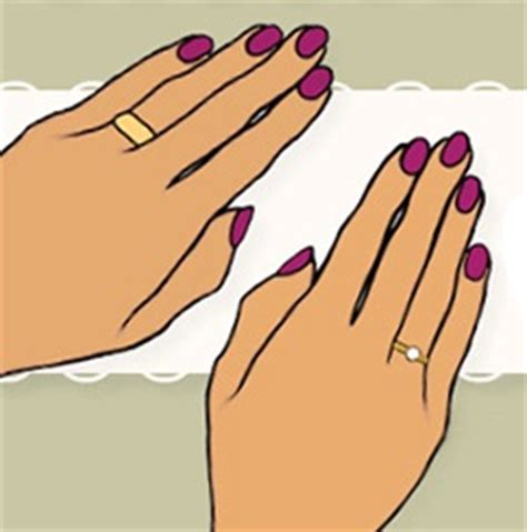 which way do you wear wedding rings 4 options for wearing the engagement ring during the wedding