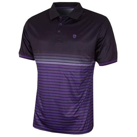 Polo Shirt Cressida 3 island green 2017 mens faded print striped coolpass golf polo shirt ebay