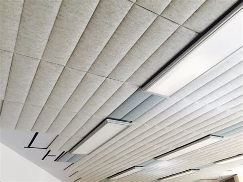pannelli fonoassorbenti per soffitti installazione pannelli fonoassorbenti ecowall 701