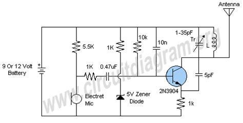selv circuit diagram putting a 1k in series with a 5v6 zener does absolutely