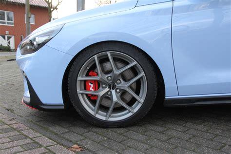 Hyundai I30 N Tieferlegung by Sportfedersatz Hyundai I30 N Performance Zymexx