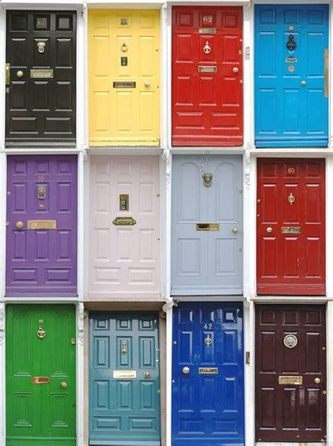 best color to paint a front door of brick house the black or the light blue for the home