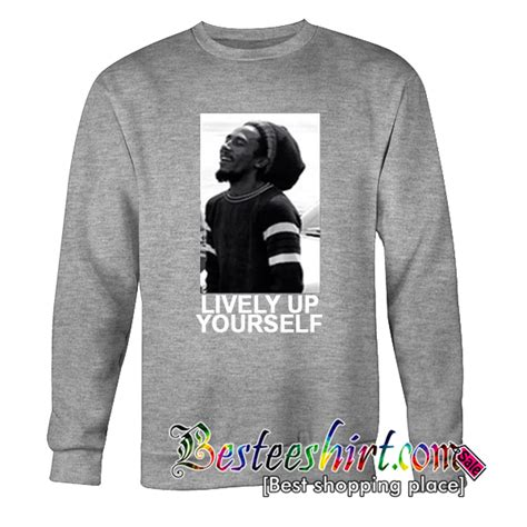 bob marley lively up yourself bob marley lively up yourself sweatshirt