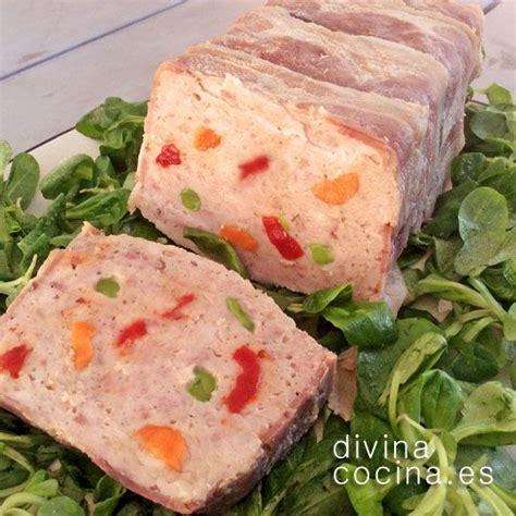 divina cocina recetas receta de pastel de carne y veruduras pasteles de carne