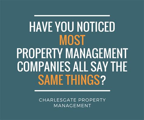Property Management Companies You Noticed Most Property Management Companies All