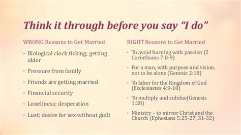 8 Reasons To Say Yes To That Marriage by Courtship A Biblical Alternative To Dating