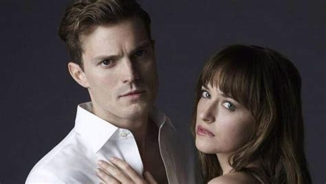 fifty shades of grey movie cast ana 50 nuances de grey moment g 234 nant entre jamie dornan et