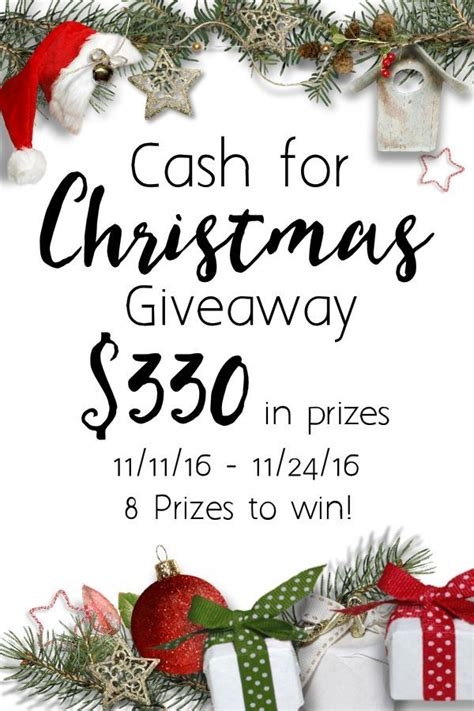 Christmas Cash Giveaway - giveaways archives trish sutton