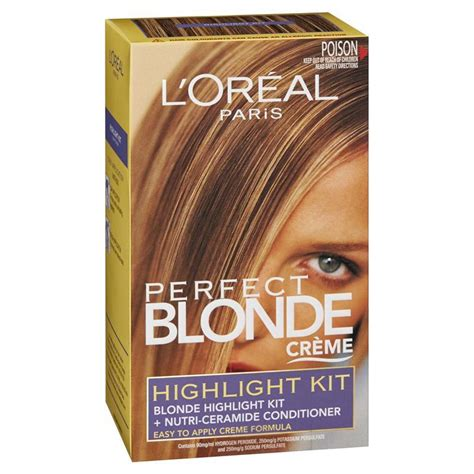 highlighting hair kits buy l oreal perfect blonde highlighting kit online at