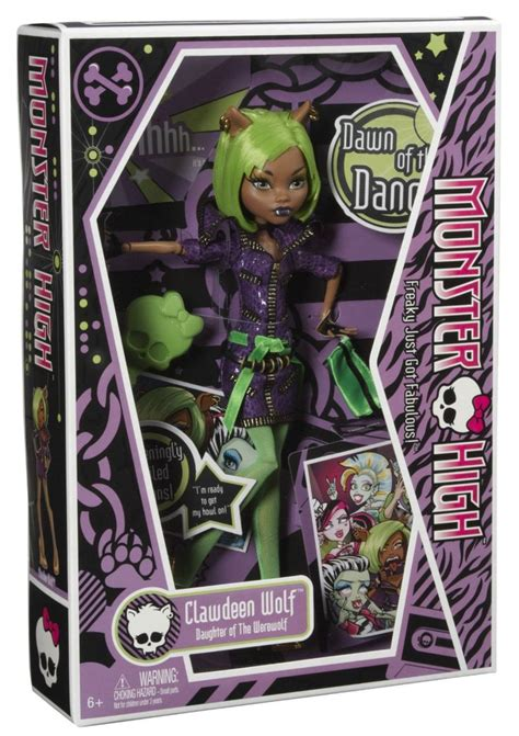 Gamis Wolvis Greeny high of the clawdeen wolf doll toys be a