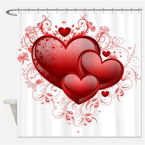 valentine shower curtain valentine shower curtains valentine fabric shower
