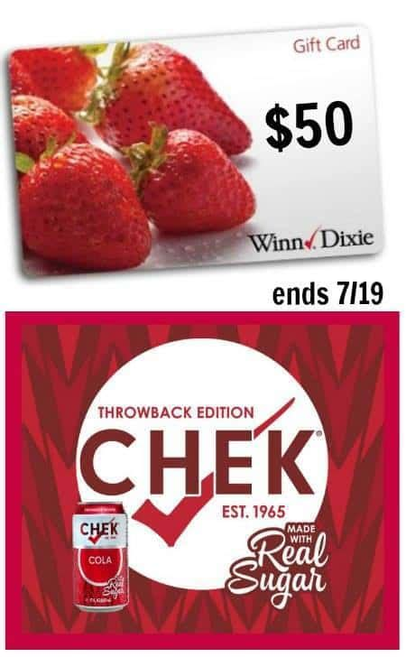 Winn Dixie Gift Cards - win 50 winn dixie gift card for your summer shopping in july