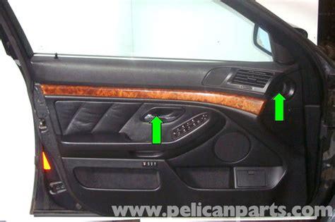 Bmw E39 5 Series Front Door Panel Removal 1997 2003 525i Remove Interior Door